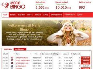 maria bingo screenshot 2017