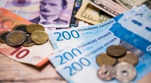 norsk valuta og euro