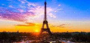 eiffeltower sunset
