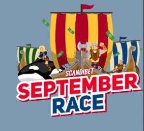 september race scandibet promo material