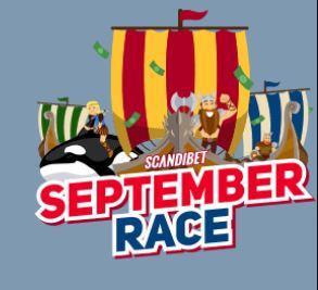 september race scandibet promo material
