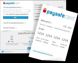 PaysafeCard kupong