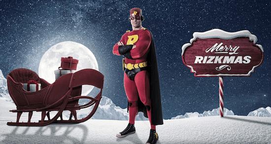 Rizk Casino – Hent din daglige julegave!