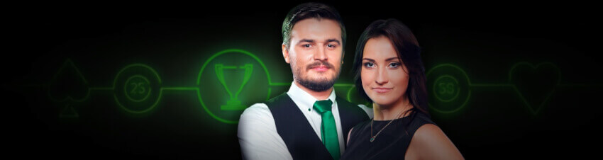 End of the Month turnering hos Unibet Live Casino