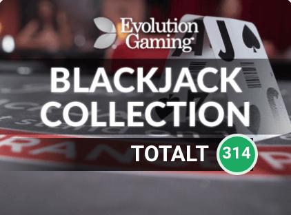 Evolution Gaming blackjack hos LeoVegas