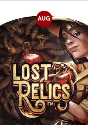 Lost Relics – dagens spill hos betsafe