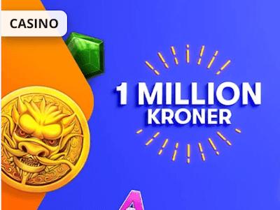 Betsson turnering med 1 million kroner