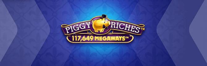 Betsson Piggy Riches Megaways turnering