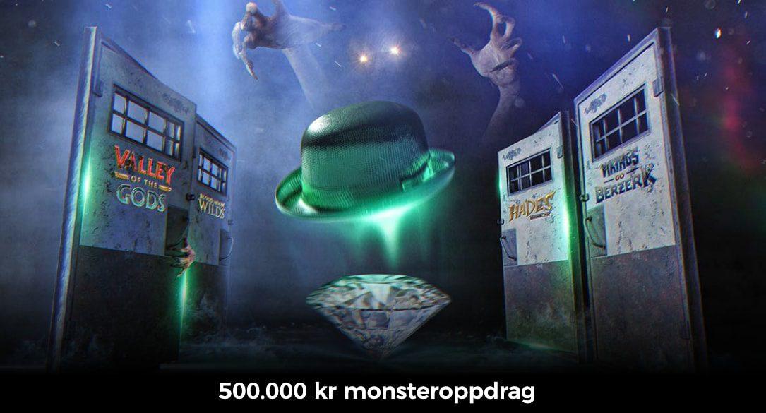 Vinn 500000 kroner ved å løse noen monsteroppdrag