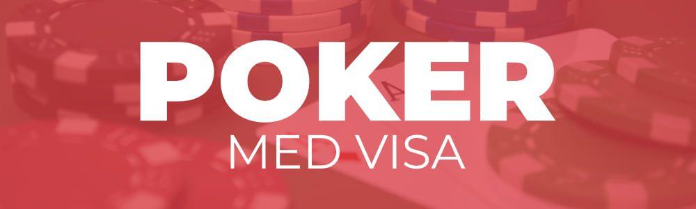 Poker med VISA og kredittkort